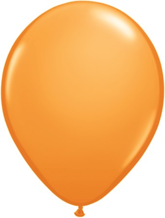 "Qualatex Standard Orange 27,5cm 11"" Latex Luftballons"