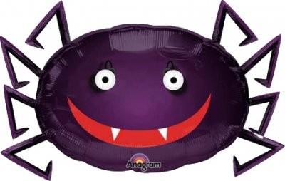 Spinne Halloween Eye Poppers Folienballon - 74cm x 48cm