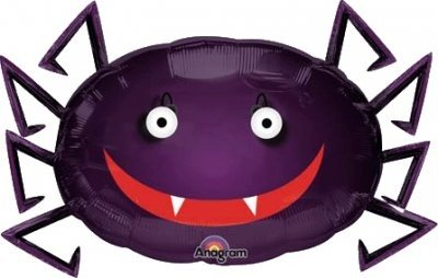Spinne Halloween Folienballon - 73cm
