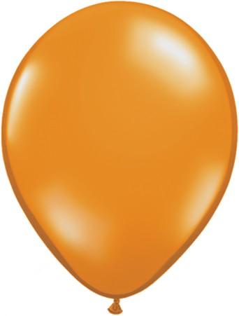 "Qualatex Jewel Mandarin Orange 27,5cm 11"" Latex Luftballons"