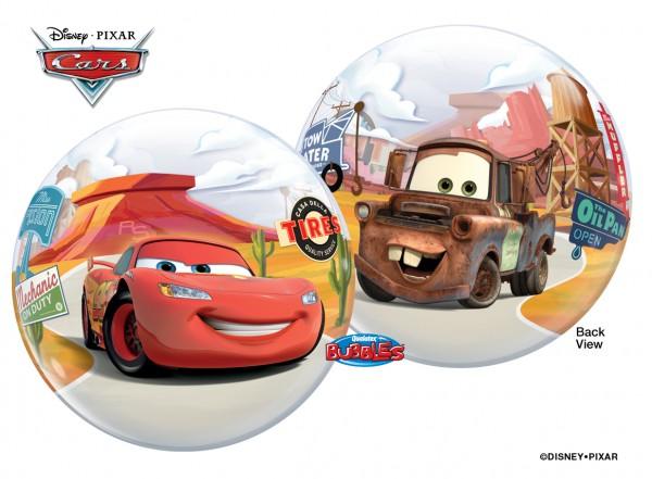 "Qualatex Single Bubble Cars Lighting McQueen 22"" 56cm Luftballon"