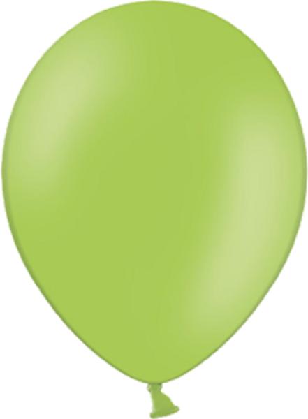 "Belbal 014 Pastel Lime Green Hellgrün 12,5cm 5"" Latex Luftballons"