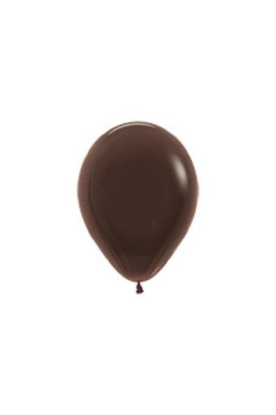 "Sempertex 076 Fashion Chocolate Brown (Braun) 12,5cm 5"" Latex Luftballons"