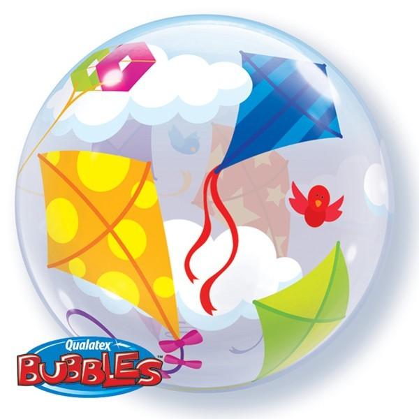 """Qualatex Bubble Herbst Drachen steigen 22"""" 56cm Luftballon"""