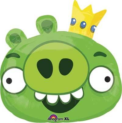 Angry Birds King Pig Folienballon
