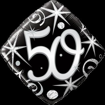 50.Geburtstag Folienballon - 46cm