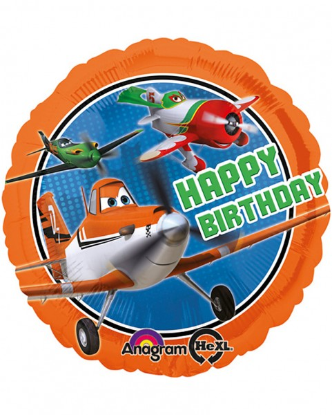 Disney Planes Happy Birthday Folienballon - 45cm