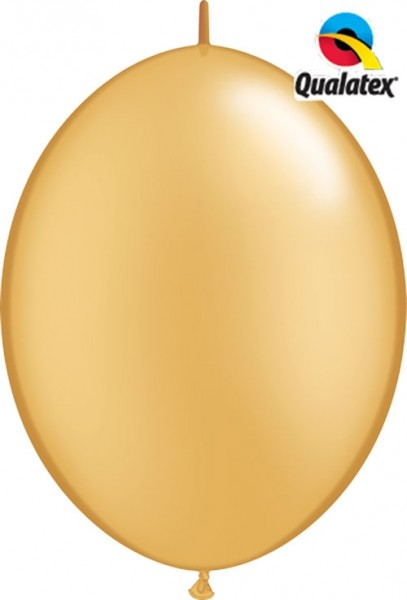 "Qualatex QuickLink Metallic Gold 30cm 12"" Ballon"