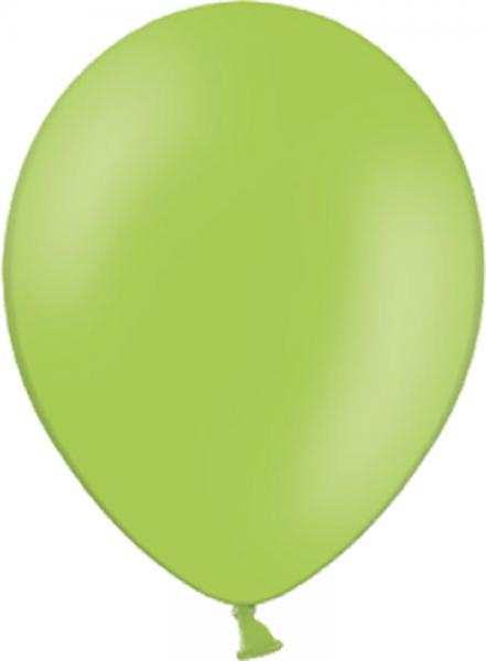 "Belbal 014 Pastel Lime Green Grün 27,5cm 11"" Latex Luftballons"