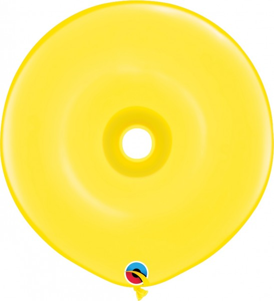 GEO Donut Luftballons Yellow (gelb) - 41 cm