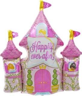 Prinzessin Schloss Folienballon - 91cm
