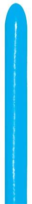 Sempertex Blue 040 260S Nozzle up Modellierballons