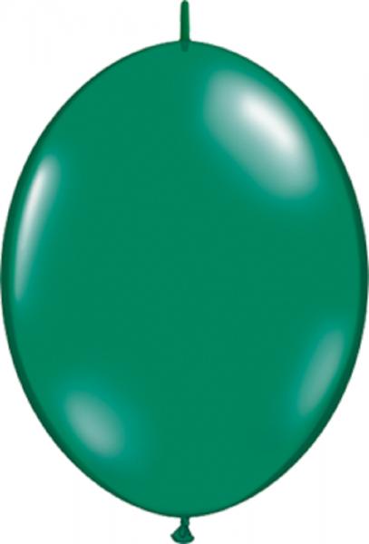 "QuickLink Jewel Emerald Green (Grün) 30cm 12"" Latex Luftballons Qualatex"