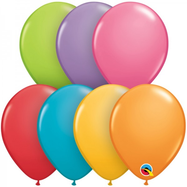 "Qualatex Assortment Festive bunte Mischung 12,5cm 5"" Luftballon"