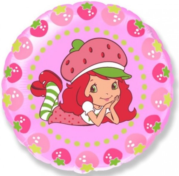 Emily Erdbeere Strawberry Shortcake Folienballon