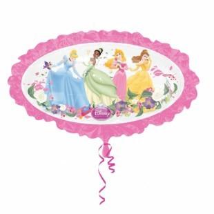 Disney Princess oval mit Prinzessin - 79cm