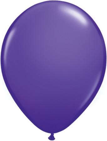 Latex Luftballons Fashion Purple Violet (Lila) 100St. - 27,5 cm