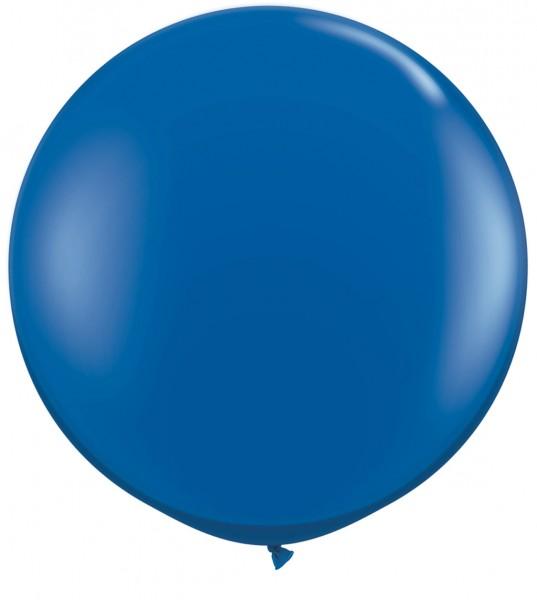 "Qualatex Standard Dark Blue Dunkelblau 90cm 36"" Latex Riesenluftballons"