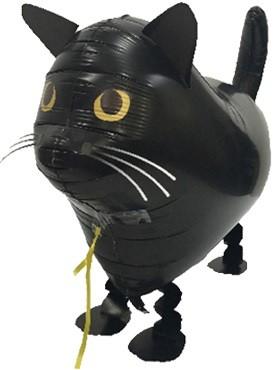 Black Cat Airwalker Ballon - 57cm