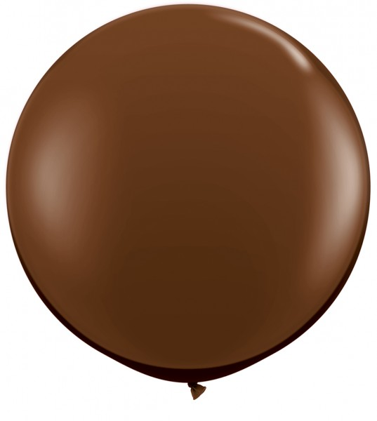 Riesenluftballon Fashion Chocolate Brown (Schokoladen Braun) 90cm
