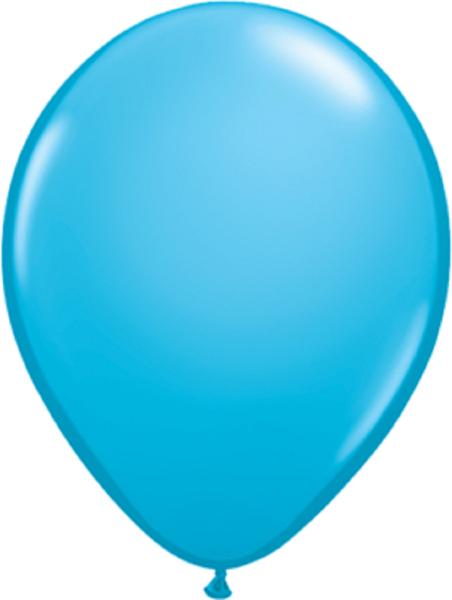"""Qualatex Fashion Robins Egg Blue (Blau) 40cm 16"""" Latex Luftballons"""