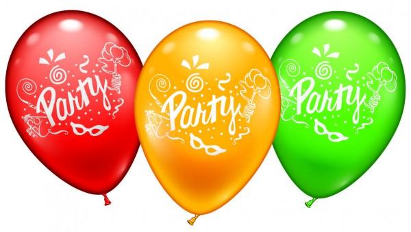 Party Sortiment Latex Luftballons Kara Loon
