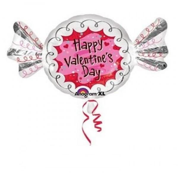 Bonbon zum Valentinstag Folienballon - 88cm