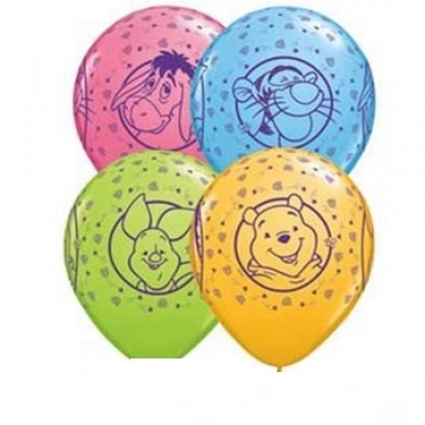 "Winnie Pooh Winnie Puuh 27,5cm 11"" Latex Luftballons"