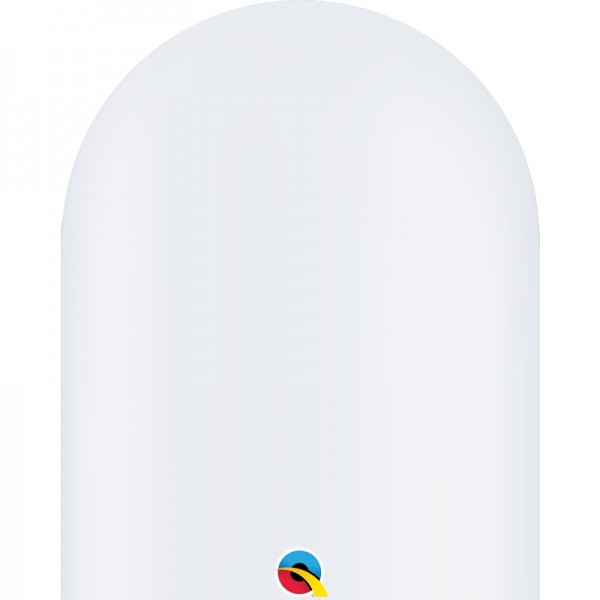 Qualatex 646Q White (weiß) Modellierballons