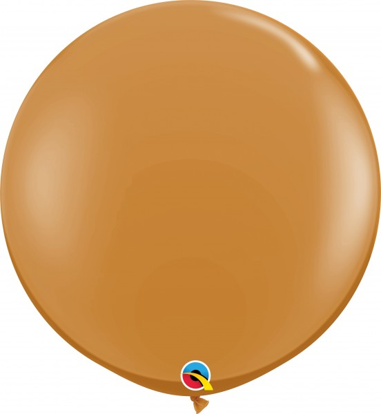 "Riesenluftballon Fashion Mocha Brown 90cm 36"""