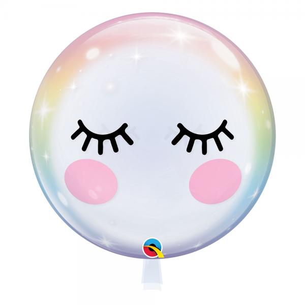"Qualatex Bubble Eyelashes 22"" 56cm Luftballons"