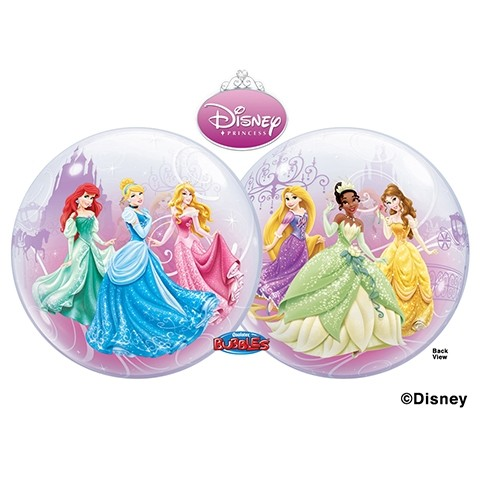 "Qualatex Bubble Princess Royal Disney Prinzessinnen Ball 22"" 56cm Luftballon"