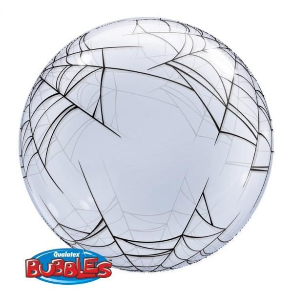 """Qualatex Deco Bubble Spider´s Web 24"""" 61cm Luftballon"""