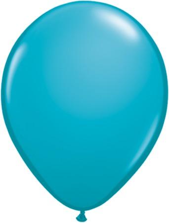 """Qualatex Fashion Tropical Teal 27,5cm 11"""" Latex Luftballons"""