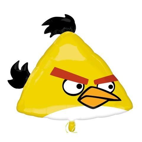 Angry Birds Chuck Folienballon