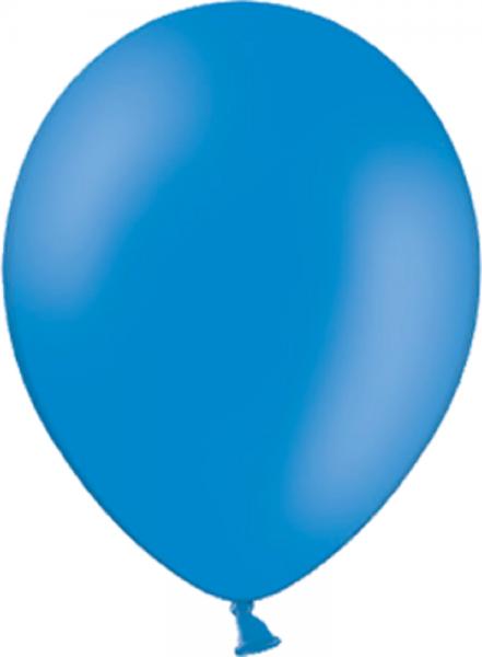 "Belbal Pastel Mid Blue 012 (Mittel Blau) 100 St. 27,5cm 11"" Latex Luftballons"