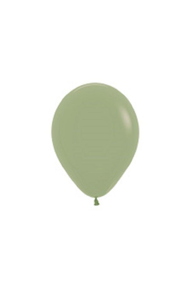 """Sempertex 027 Fashion Eucalyptus 30cm 12/"""" Ballon 50 Stück Luftballons Grün"""
