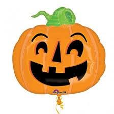 Riesen Kürbis Pumpkin - Halloween Folienballon - 74cm