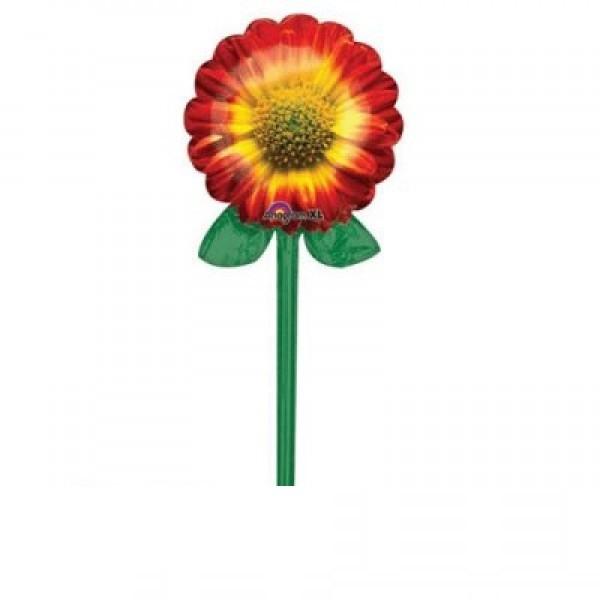 Sonnenblume mit Stil Folienballon - 99cm