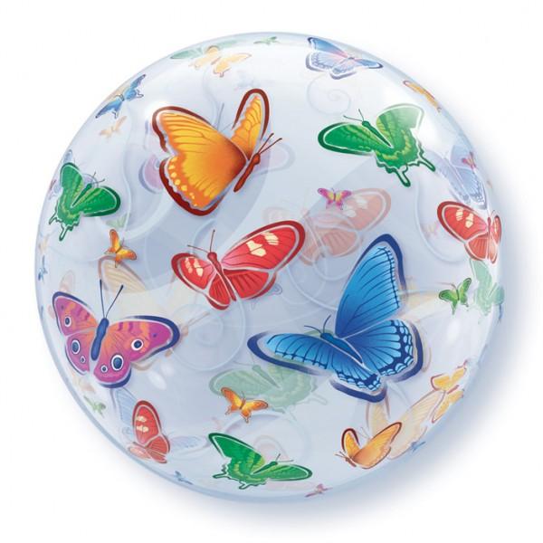 Qualatex Luftballons Deco Bubbles Schmetterlinge Butterflies