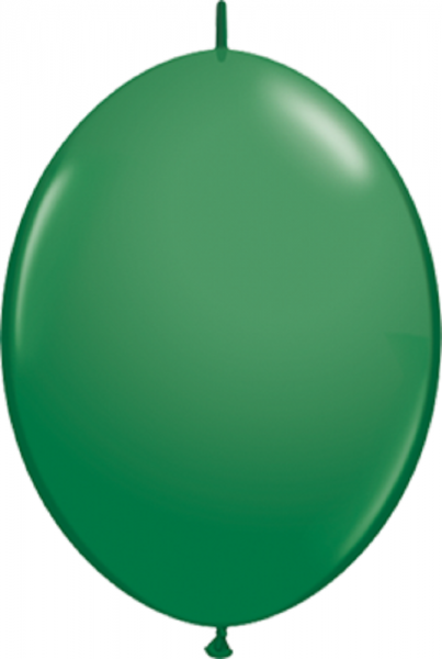 "Qualatex QuickLink Standard Green 15cm 6"" Luftballons"