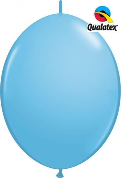 "QuickLink Standard Pale Blue (Blau) 30cm 12"" Latex Luftballons Qualatex"