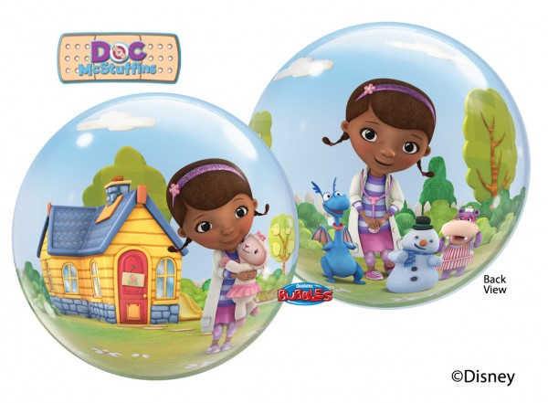 Qualatex Bubble Luftballons Doc McStuffins