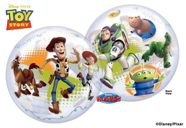 "Qualatex Bubble Toy Story 22"" 56cm Luftballon"