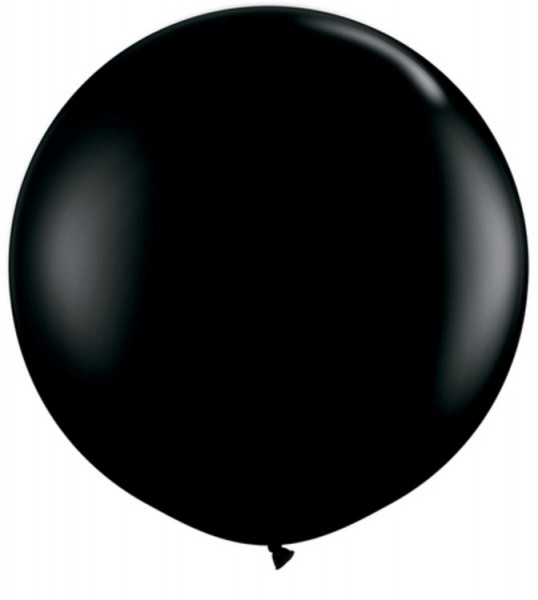 Riesenluftballon Fashion Onyx Black (schwarz) 90cm