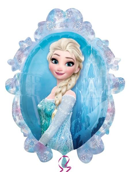 Anna und Elsa im Spiegel Frozen Eiskönigin Disney Folienballon - 63 x 78cm