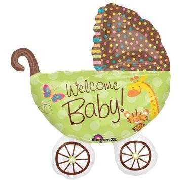 Kinderwagen Baby Fisher Price Folienballon
