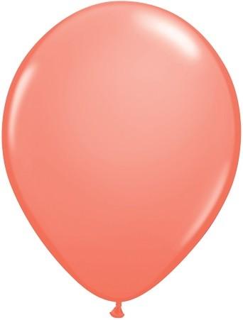 "Qualatex Fashion Coral (Koralle) 27,5cm 11"" Latex Luftballons"