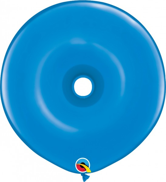 GEO Donut Luftballons Dark Blue (dunkel blau) - 41 cm
