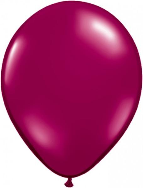 "Qualatex Jewel Sparkling Burgundy 12,5cm 5"""